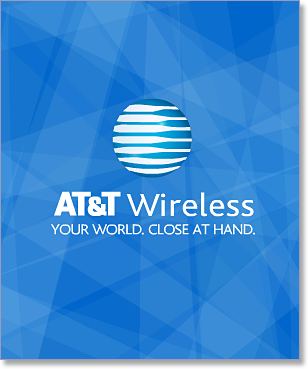 AT&T Wireless banner
