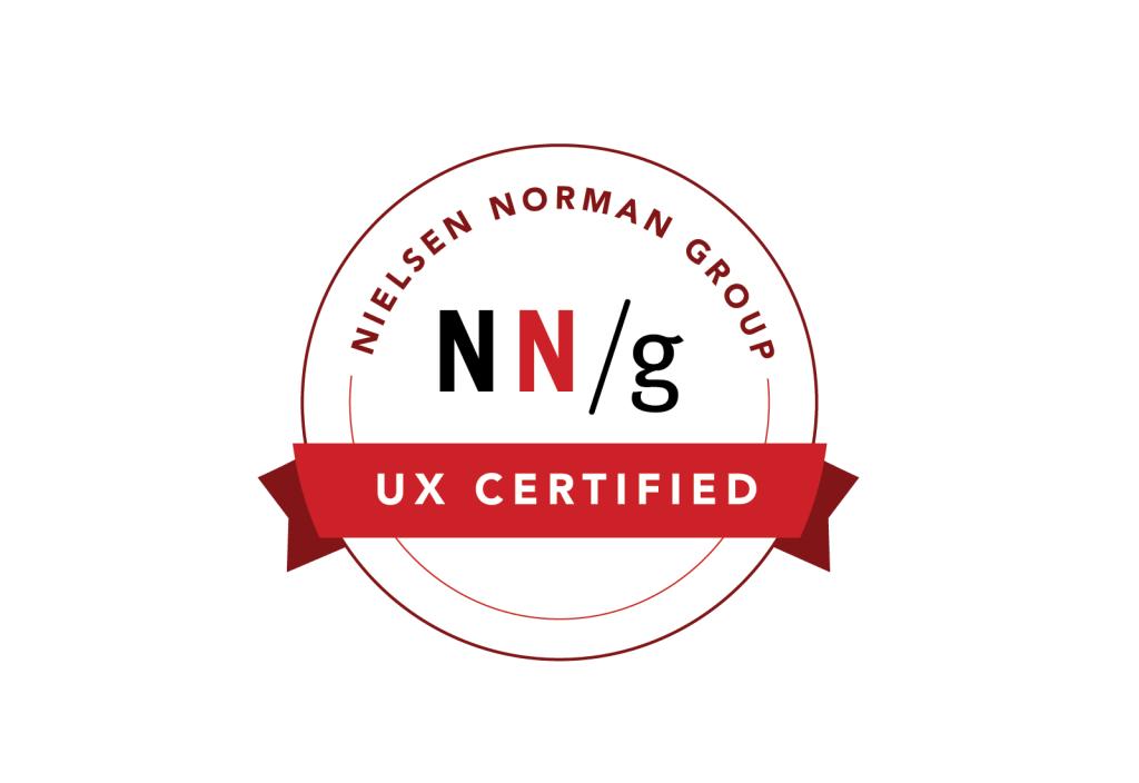 Nielsen Norman Group NN/g UX Certification