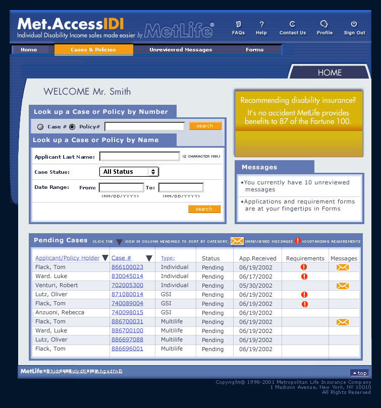 MetAccess Home