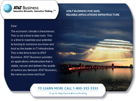 AT&T Business email/landing page